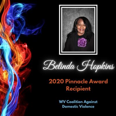 Belinda Hopkins, 2020 Pinnacle Award Recipient, WV Coalition Against Domestic Violence